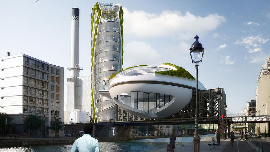 Seven Amazing Cities Of The Future - Physalia-a-huge-floating-garden-by-vincent-callebaut