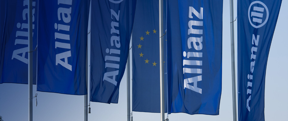 Allianz flags