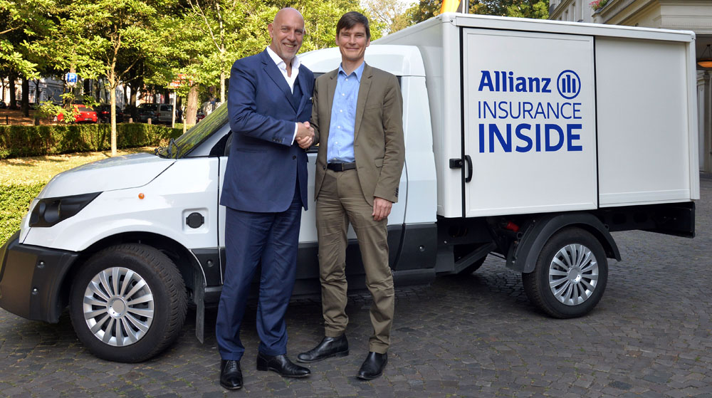 Allianz and StreetScooter enable business customers to start e-mobility with ease