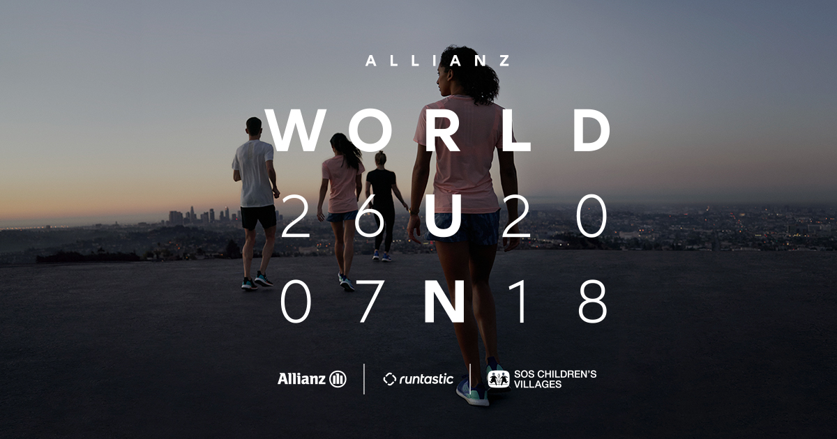 Allianz calls on runners globally to join World Run 2018
