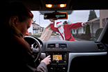 Drive safely despite holiday stress